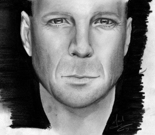 Portrait Bruce Willis